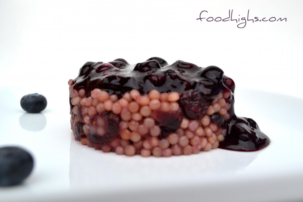 Blueberry Couscous Cake
