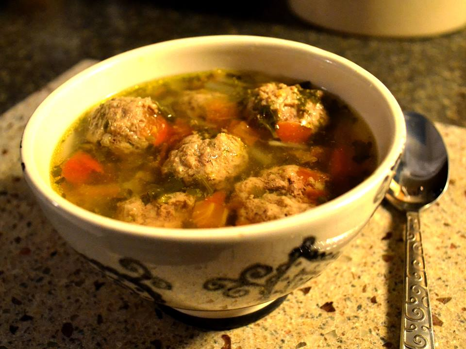 Patty's Albondigas Soup, a.k.a. Patty's Mama's Albondigas Soup