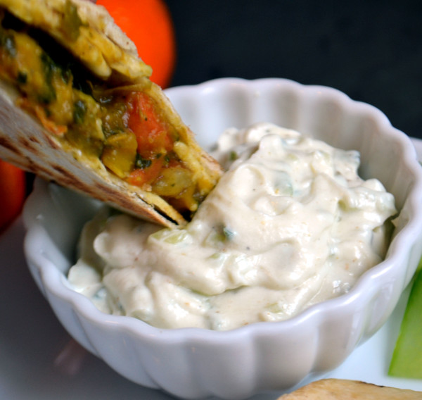 Easy Curry Burrito with Raita Dip – Vegan – Vegan Daughter ...